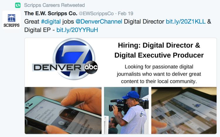 Social Media in the Job Hunt