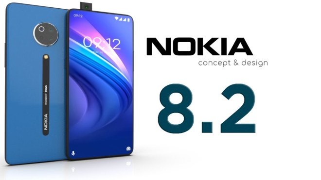 Nokia 8.2_top