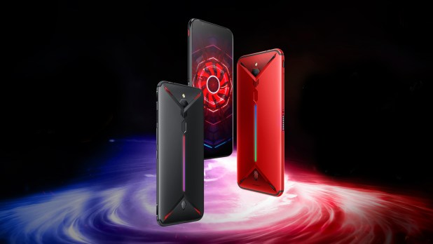 nubia Red Magic3S_top