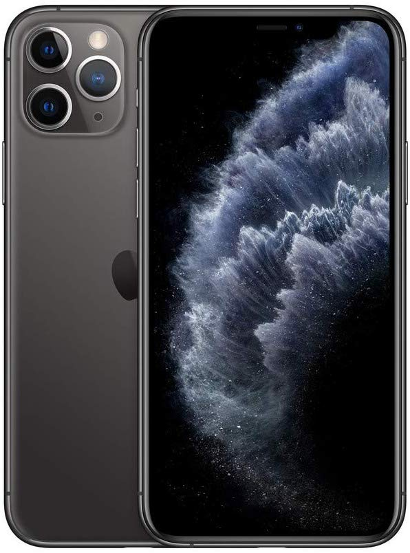 Black, Apple iPhone 11 Pro, Front