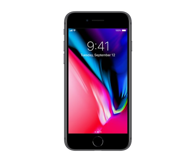 Apple iPhone 8, Black, Front