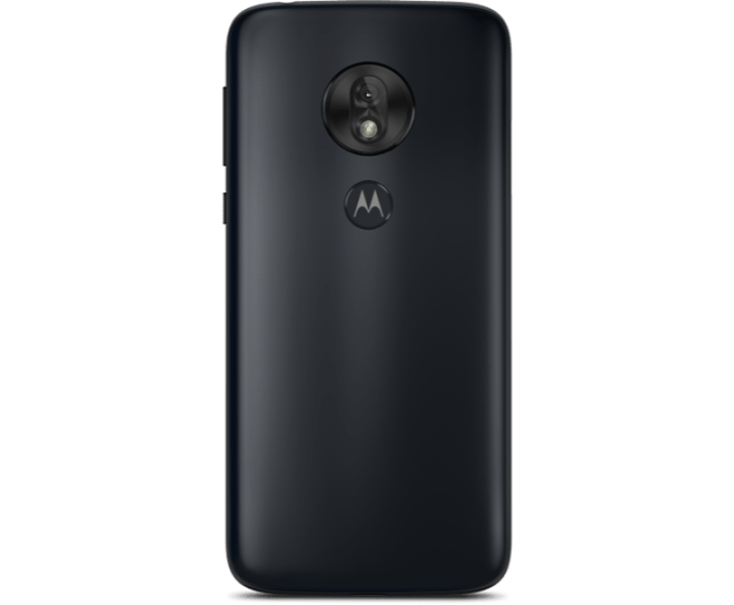 Virgin Mobile Phones, Moto G7 Play, Black, Back