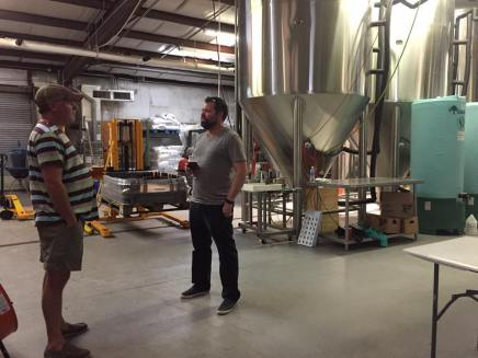 Seeing where the magic happens at Fairhope Brewing Company
