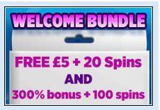 New Welcome Bundle at Lucky Pants Bingo
