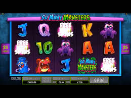 SO MANY MONSTERS SLOT AT SPIN AND WIN