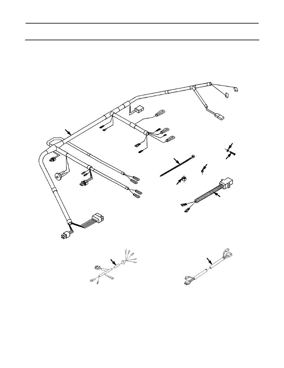 Figure 41. Engine Wiring Harness.