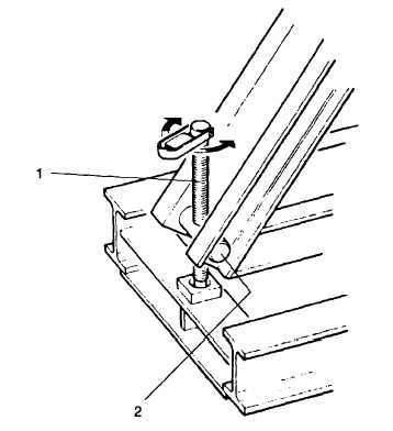 ADJUSTABLE SUPPORT (Levelling Screw)