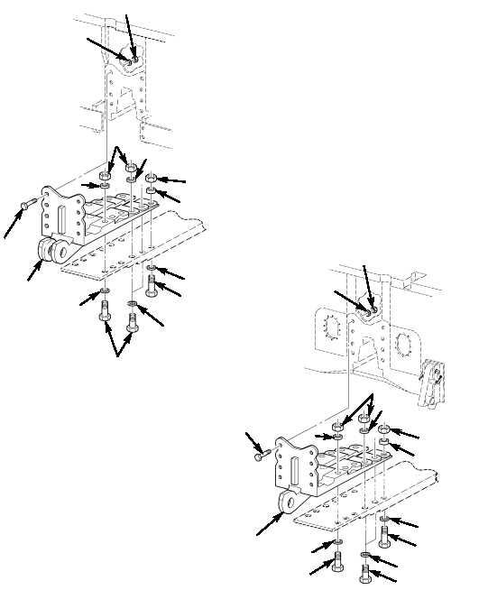 Figure 40. Lower Main Couplings