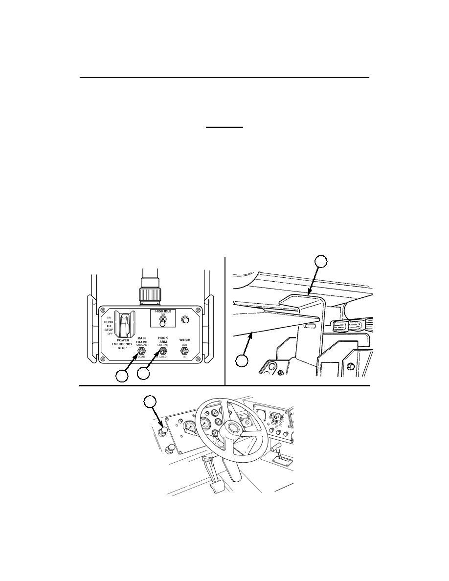 TRANSLOADING PALLET FROM PALLETIZED LOAD SYSTEM TRAILER
