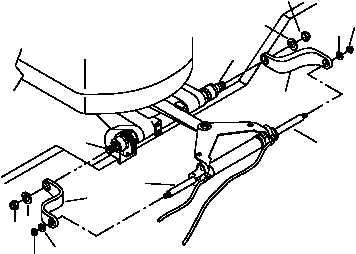 fishing boat steering bracket
