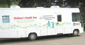Childrens Health Van Decal