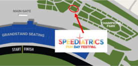 Speeday map zoom