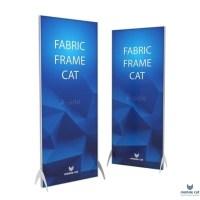 Fabric Frame Cat  50×50 см