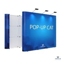 Pop-up Cat, 1×3 секции прямой, радиальный