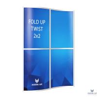 Fold-Up Cat Twist 2×2 секции 146,4х200 см