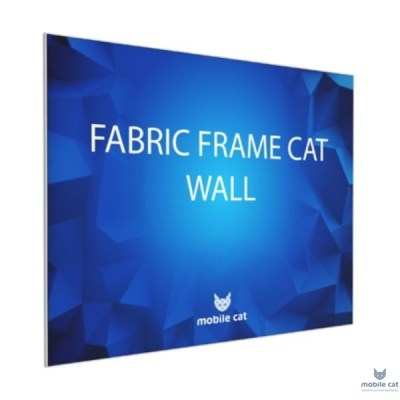 Текстильный Fabric Frame Cat Wall