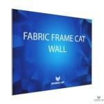 Текстильный рамочный стенд Fabric Frame Cat Wall