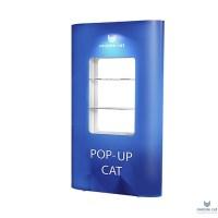 Витрина для стенда Pop-up Cat (полуторная)