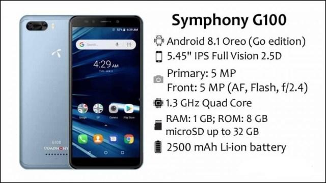 Symphony G100
