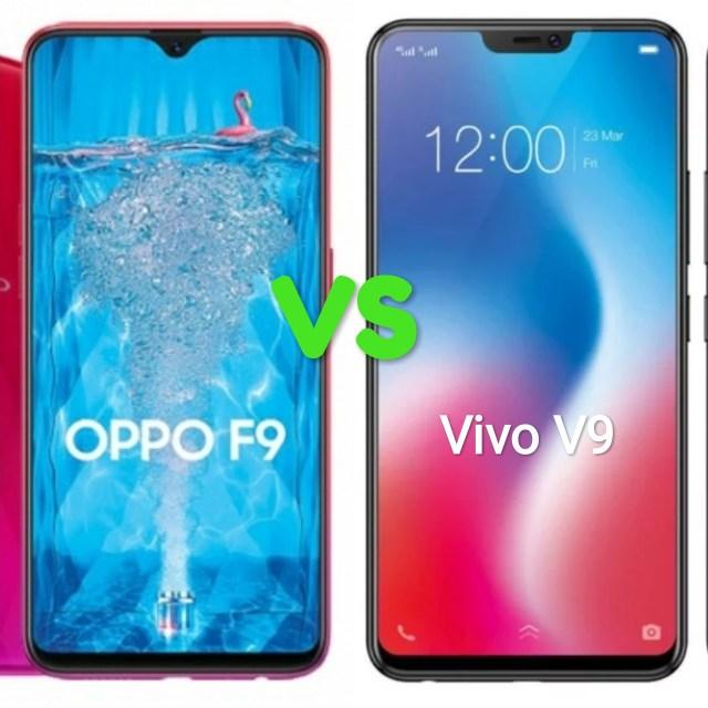 Oppo F9 Vs Vivo V9