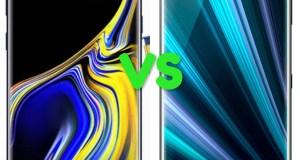 Samsung Galaxy Note 9 Vs Sony Xperia XZ3