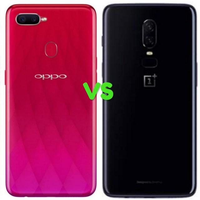 Oppo F9 Vs OnePlus 6