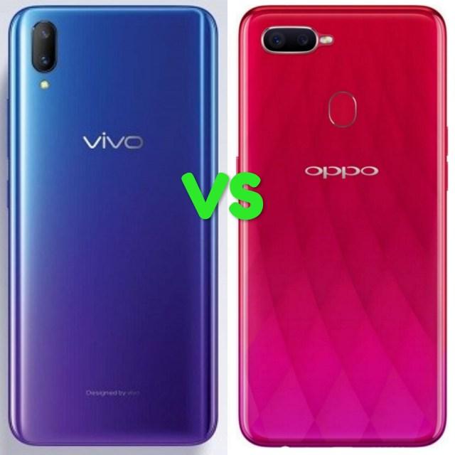 Vivo V11 Vs Oppo F9