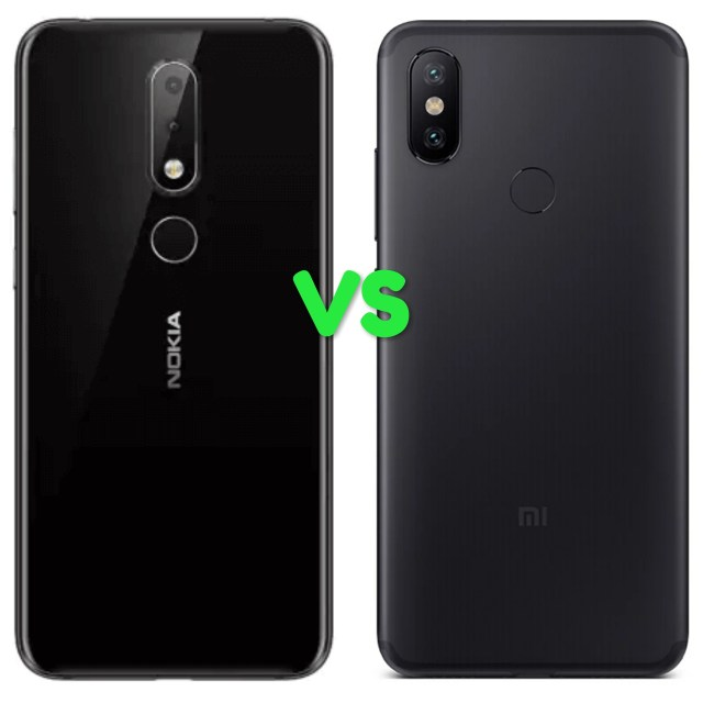 Nokia 6.1 Plus Vs Xiaomi Mi A2