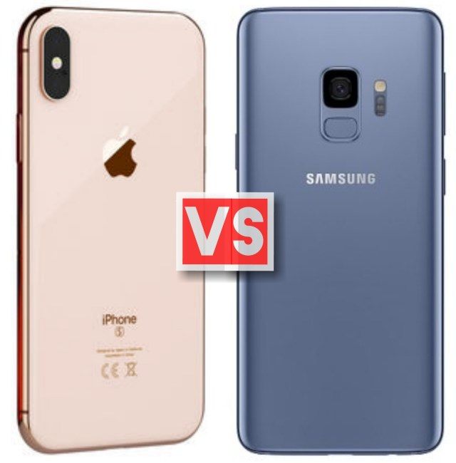 Apple iPhone XS Vs Samsung Galaxy S9
