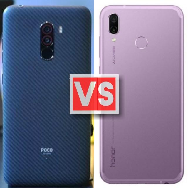 Xiaomi Pocophone F1 Vs Honor Play