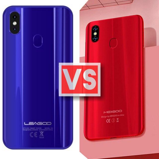 Leagoo S9 Vs Meiigoo S9