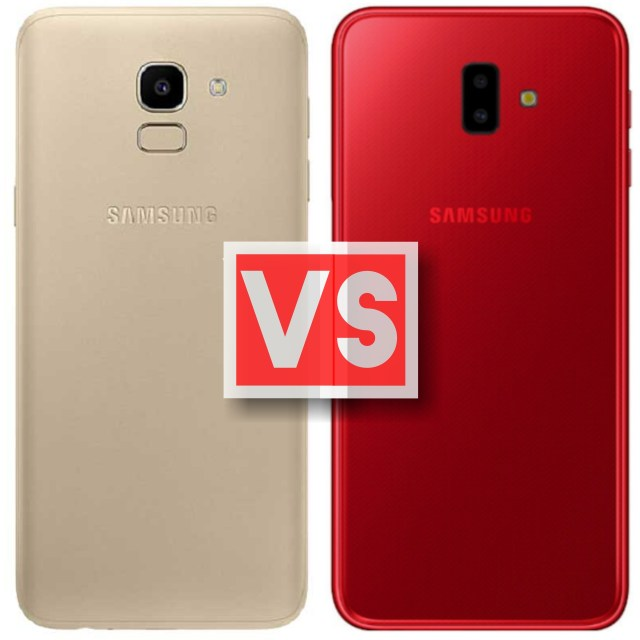 Samsung Galaxy J6 Vs J6 Plus