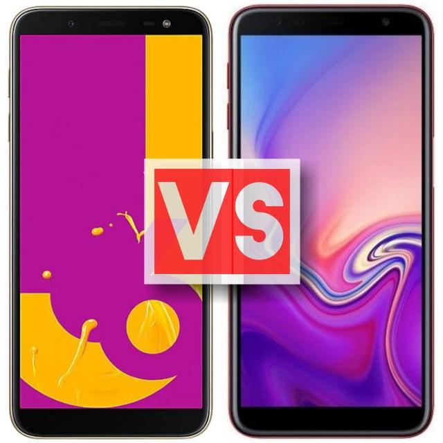 Samsung Galaxy J6 Vs J6 Plus