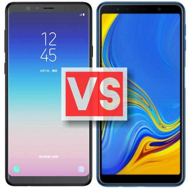 Samsung Galaxy A8 Star Vs A7 2018