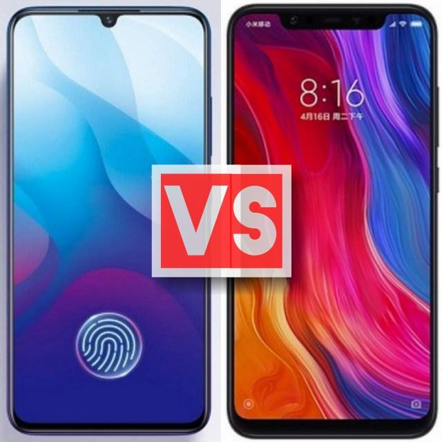 Vivo V11 Vs Xiaomi Mi 8