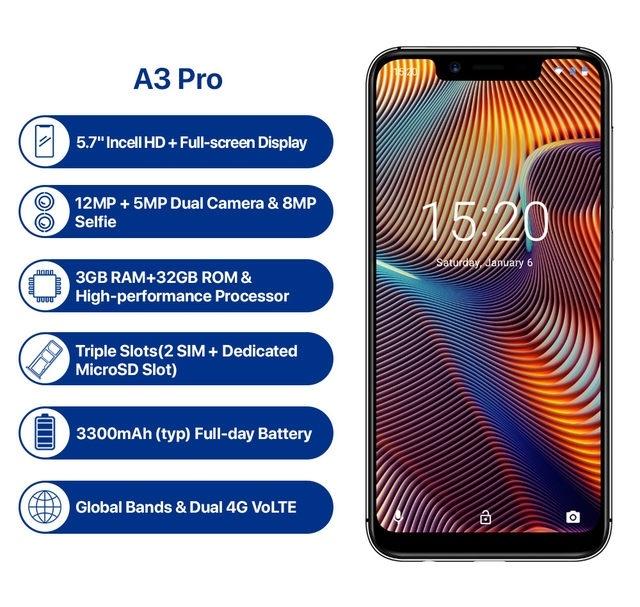 UMIDIGI A3 Pro