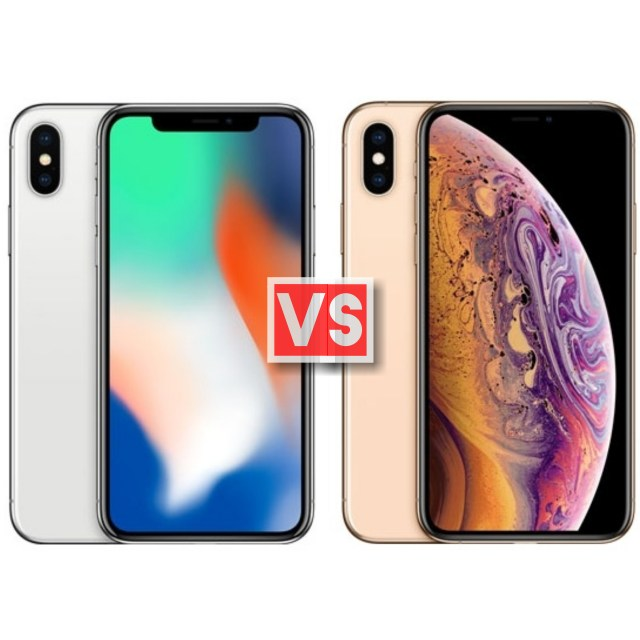 Apple iPhone X Vs XS