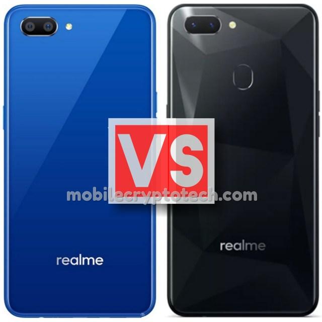 Oppo Realme C1 Vs Realme 2