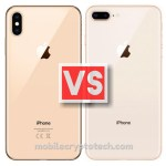 Apple iPhone XS Max Vs iPhone 8 Plus