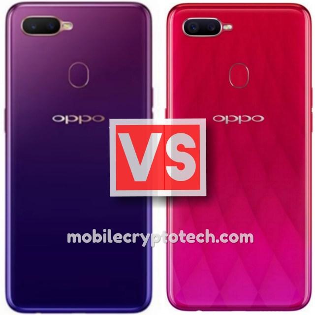 Oppo A7x Vs Oppo F9