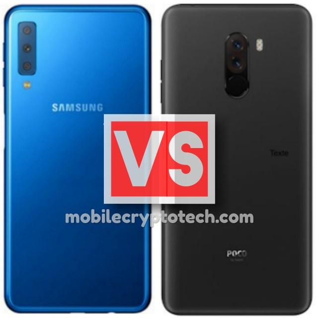 Samsung Galaxy A7 2018 Vs Pocophone F1