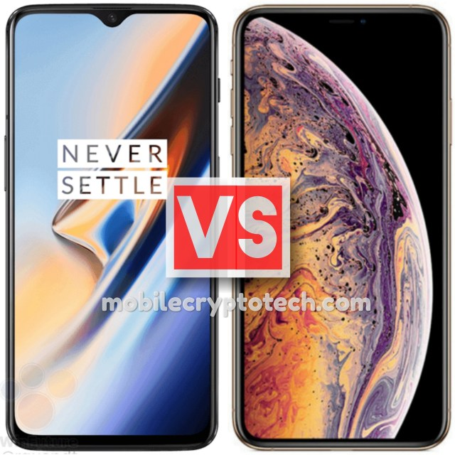 OnePlus 6T Vs Apple iPhone XS