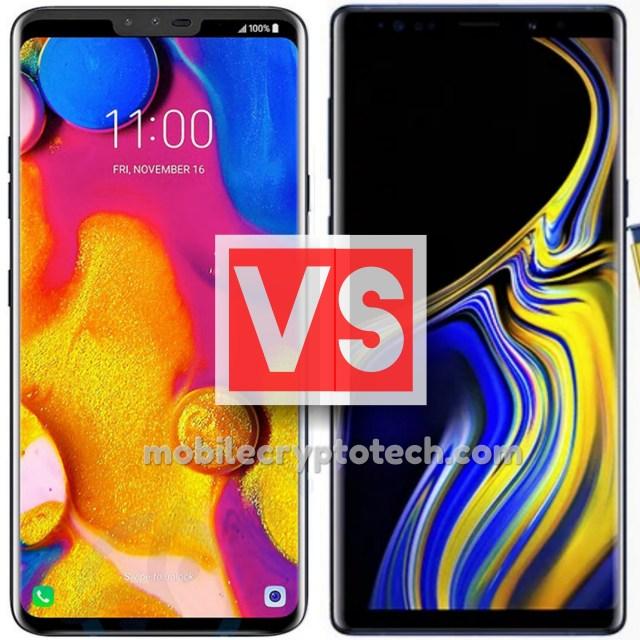 LG V40 ThinQ Vs Samsung Galaxy Note 9
