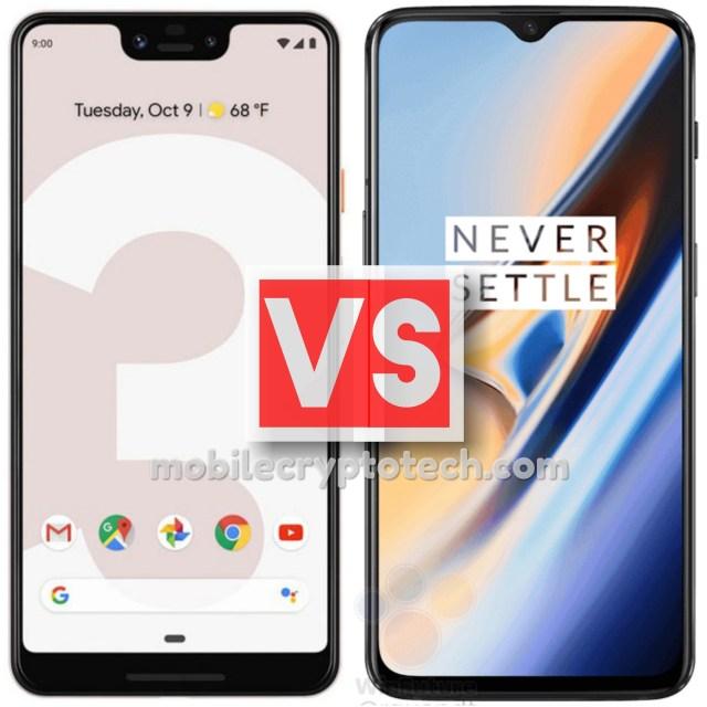 Google Pixel 3 XL Vs OnePlus 6T