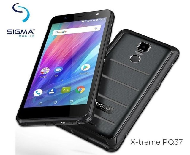 Sigma Mobile X-treme PQ37
