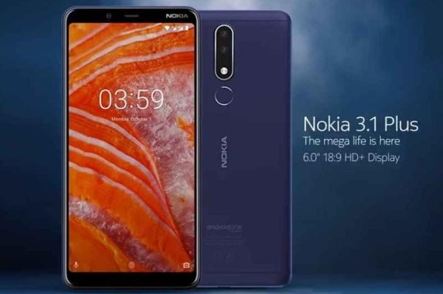 Nokia 3.1 Plus (X3)