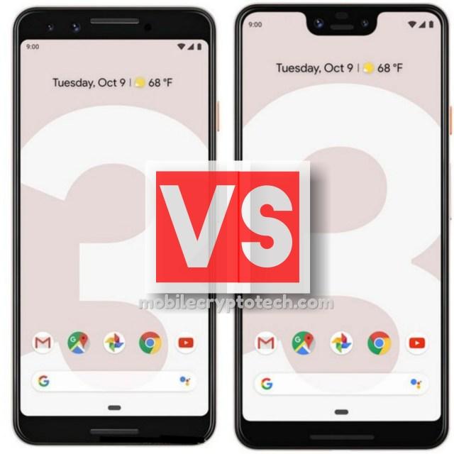 Google Pixel 3 Vs 3 XL