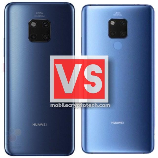 Huawei Mate 20 Pro Vs Mate 20 X