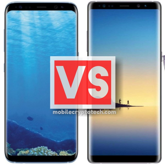 Samsung Galaxy S8 Vs Note 8