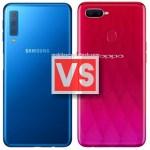 Samsung Galaxy A7 2018 Vs Oppo F9 Pro